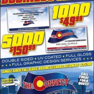 The Connect Denver Colorado - Premium Business Cards